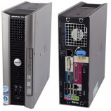 (Refurbished) Dell Optiplex 760 USFF Desktop Intel Core Duo Processor E7500 (3M Cache, 2.93 GHz, 1066MHz FSB) S1071