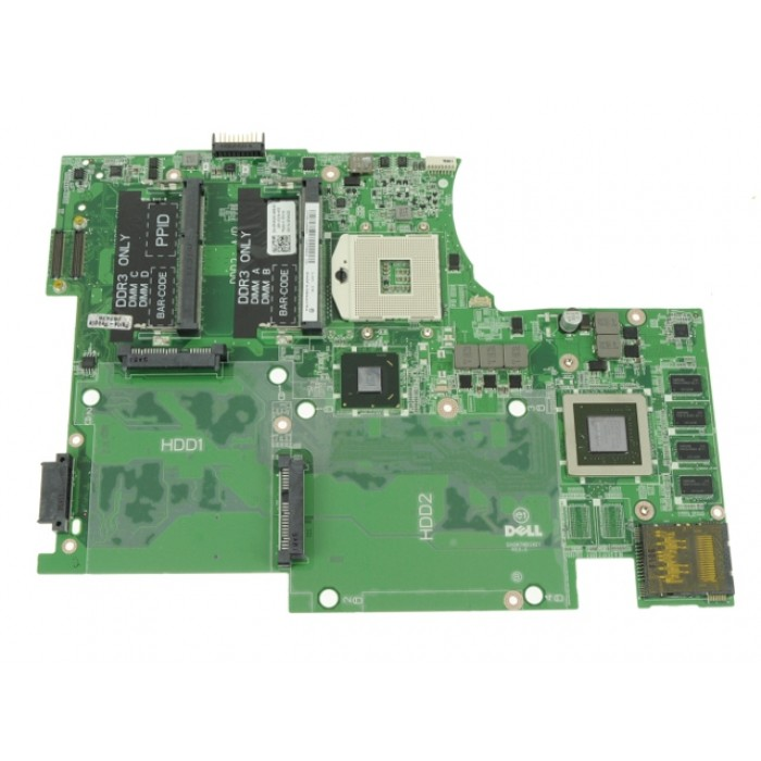 Dell XPS 17 (L702X) Motherboard System Board with NVIDIA 3D Vision GeForce  GT555M Graphics - 2 DIMM - P4N30
