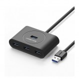 Ugreen 4 ports USB 3.0 expansion hub high-speed conversion  computer notebook multi-interface