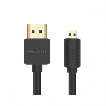 Ugreen micro HDMI to HDMI cable mobile phone tablet / camera with TV micro-head transfer HD cable 3D