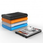 ORICO 2.5 inch mobile hard disk digital storage protective cover soft shell silicone shock proof portable bag