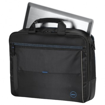 Dell Urban 2.0 Topload Notebook / Laptop Bag with Shoulder Strap Fits up to 15.6 1DWRX (Black)