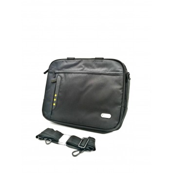 Dell Targus Black/ Grey & Yellow Synergy Top Loading Carry Case D1JR2 for 15.6 inch laptop
