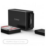 ORICO 2bay NS200C3 Type-C hard disk cabinet disk array multi-disc hard disk box base