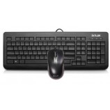 DELUX K3110P + M375BU Genuine Wired Keyboard Mouse Set Comfortable Expert