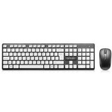 DeLUX KA150G + M107GX Wireless Mouse And Keyboard Set Multimedia Office Game