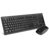 DeLUX K6300G + M138G Ultra-Thin Wireless Keyboard Mouse Set Office Computer