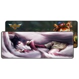 A-JAZZ LOL Gaming Mouse Pad Anime Cute Cartoon Extra Large Thicker Locking Table Pad