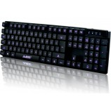 A-JAZZ Cyborg Soldier Backlit Gaming Keyboard Laptop USB External Wired Luminous Keyboard LOL