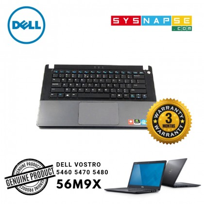 Dell Vostro 5460 5470 5480 TouchPad Palmrest Assembly GREY 056M9X WITH KEYBOARD 00Y93N NO FINGERPRINT READER