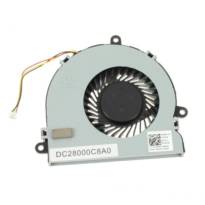 Dell Inspiron 15R 5521 CPU Cooling Fan 074X7K
