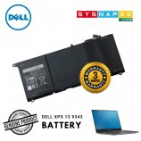 Dell XPS 13 9343 9350 4 Cell Battery 52Wh 7300mAh 7.6V Type 90V7W JHXPV 0JHXPV