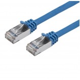 Cat6 26awg Shielded Ethernet Network Patch Cable 25ft Blue 7M