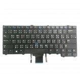 Dell E7440 Black TW Traditional Chinese NSK-LDAUC 9Z.N9UUC.A02 0F02VK F02VK Keyboard