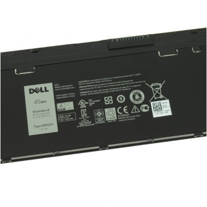 Dell Latitude E7240  E7250 4-cell Laptop Battery 45Wh WD52H