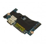 Dell XPS 13 9350 133 Laptop Power Button SD Reader USB Board H2P6T