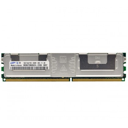 Samsung 1GB PC2-5300F Fully Buffered ECC DDR2-667 Memory M395T2863QZ4-CE65