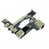 Dell Latitude E6510 Precision M4500 USB LAN Firewire Board FNW40 3DD5J