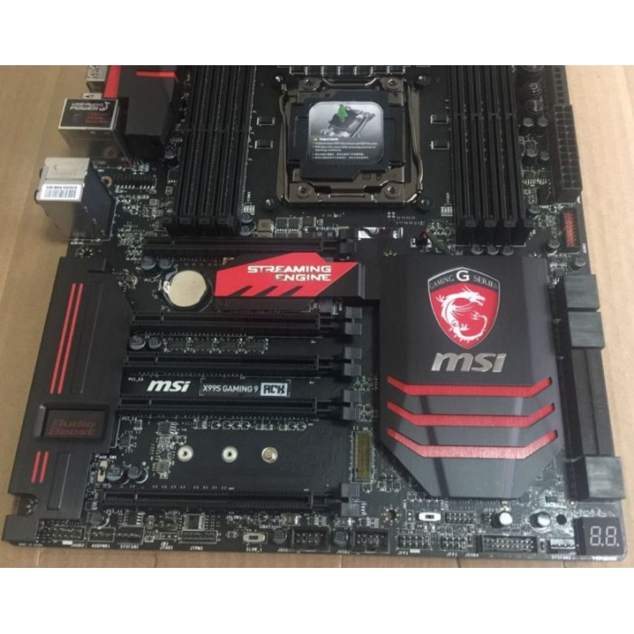 MSI X99S GAMING 9 X99 Overclocking motherboard DDR4 supports E5 V4 i7 CPU