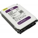 Western Digital 3.5 inch 8T Purple Disk 128M cache SATA3 WD80PUZX HD Surveillance Hard Drive