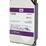 Western Digital Helium WD100PUAX 3.5-inch 10TB 256M SATA Purple Monitor Hard Drive