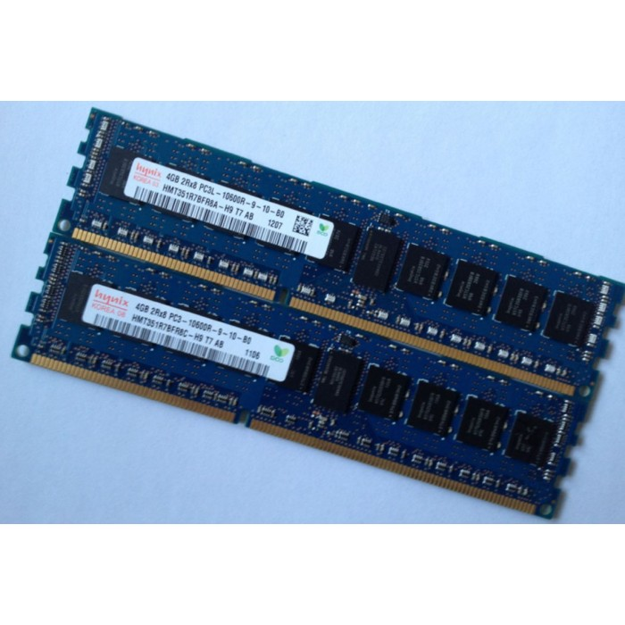 Dell T3600 T5600 T7600 Workstation Memory 4G DDR3 1333 ECC RDIMM