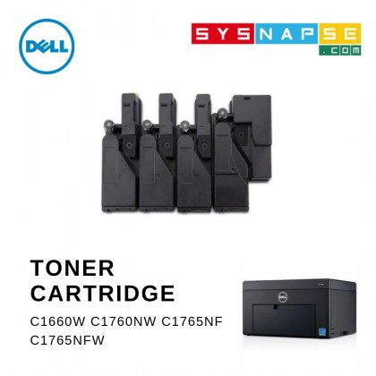 Dell C1660W C1760NW C1765NF C1765NFW Toner Cartridge