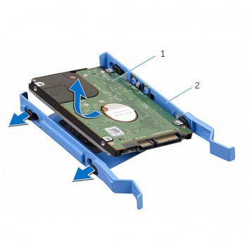 Dell HDD Caddy Bracket X9FV3 2.5 Caddy Optiplex 3040 5040 7040 3046 MT X9FV3 HDD Bracket