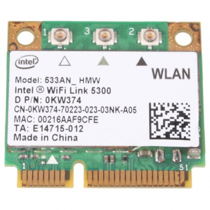 Dell Ultimate N Intel WiFi Link 5300 Wireless Card 0KW374 533ANHMW