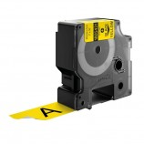 DYMO 1805431 24 mm Black on Yellow Label Printer Tape