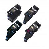 Dell E525W E525 525 E525W Toner Cartridge Black Cyan Magenta Yellow