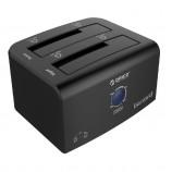 ORICO 8628SUS3-C 2.5 Inc 3.5 Inc USB3.0 ESATA 2-Bay Hard Drive Docking Station