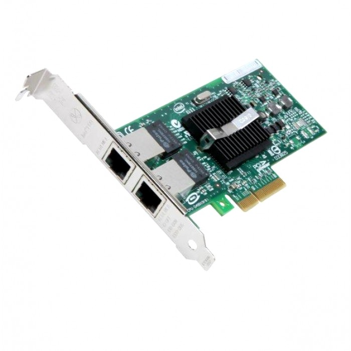 Intel PRO/1000 PT Dual Port Server Adapter 10/100/1000Mbps PCI-Express 2 x  RJ45