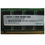 Apacer AU01GD400C3KTG 16chip PC-3200 DDR (R0400084) 1024MB