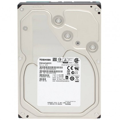 "Toshiba MG06ACA800E 8 TB SATA 7200 RPM 3.5"" 256 MB Enterprise Hard Drive Disk"