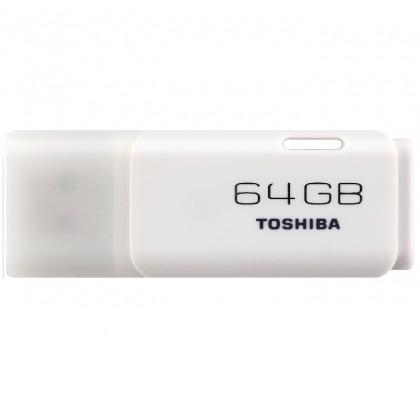 TOSHIBA Hayabusa USB Flash Drive 2.0 TRANSMEMORY U202 64GB White TS-U202W0640E4