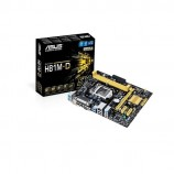 ASUS H81M-D Intel H81 DDR3 1600MHz 2xDIMM 1 x PCle x16 Desktop Motherboard