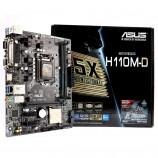 Asus H110M-D MotherBoard Memory DDR4 2133 MHz Non-ECC LGA1151
