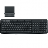 Logitech Bluetooth Multi-Device Keyboard K375s ,Black-920-008250