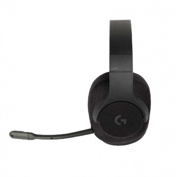 Logitech 981-000708 G433 7 1 Wired Gaming Headset DTS Headphone: X 7 1
