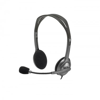 Logitech Stereo Headset H111 Multi Device 3.5MM Audio Jack Connection 981-000612