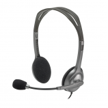 Logitech Stereo Headset H110 3.5 MM Dual Plug Connection Computer Headset