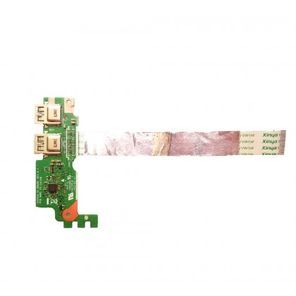 Asus X455L X455LD IO BOARD usb sd card board X455 14010-00390200 cable