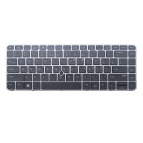 HP 836308-001 821177-001 819877-001 US UI Backlit keyboard - Black