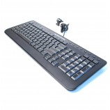 Dell H9Y23 Alienware Wired USB Computer Keyboard SK-8165 Multimedia Hot Buttons