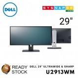 (Open Box) Dell 29 in Ultrasharp Monitor HD U2913WM Ultrawide 21:9 Mini DP DP HDMI VGA MST
