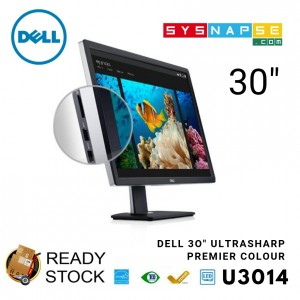 (Open Box) Dell UltraSharp U3014 Monitor PremierColor for Designer or Multitasking Big Large Size