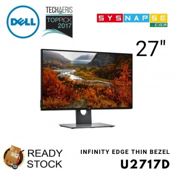 (Open Box) UltraSharp 27 U2717D QHD InfinityEdge Monitor CAD Awards Designer 3D Modelling