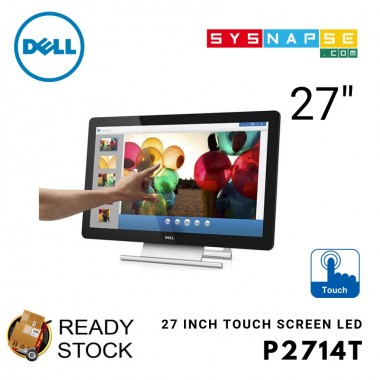 (Open Box) Dell Full Touch Screen P2714T Designing Gesture Big Reliable 3D Vivid Point