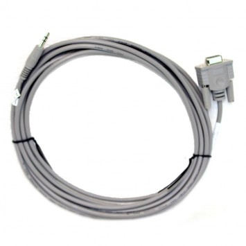 Dell Password Reset Service Cable 9 Pin Db9 Serial to 3.5mm Plug 5WD20 Compellent